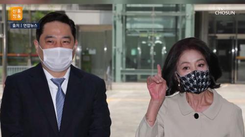 """이재명 때린 김부선 """"쌀 한가마니라도 보내야 남자"""" TV CHOSUN 210422 방송"""