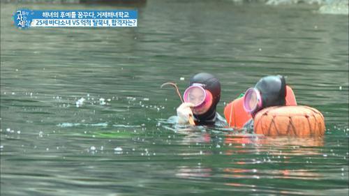 25살 바다소녀의 해녀 도전기!