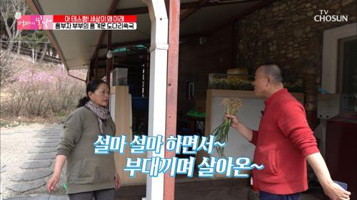 흥 폭발 부부↗ 요리 준비하다가 노래 춤 삼매경ㅋㅋ  TV CHOSUN 20210411 방송