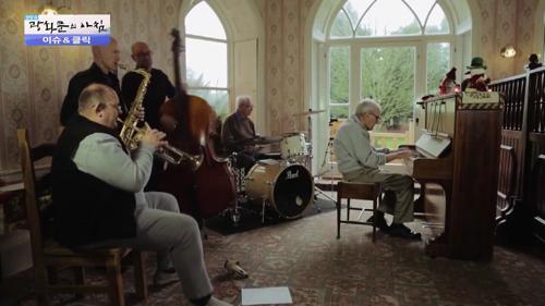 95세 전직 피아니스트 추억의 연주