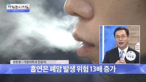 폐암, 담배를 끊어라!