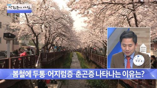 아름다운 봄이지만 유난히 머리가 아픈 이유?