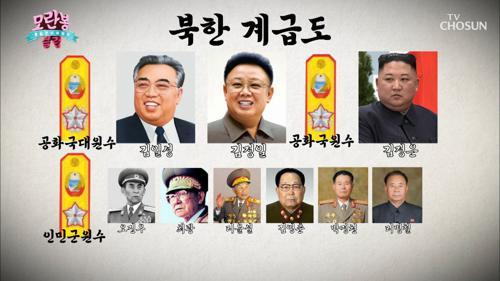 『최근 북한 계급 변화』 항상 불안한 계급장 다툼⚡