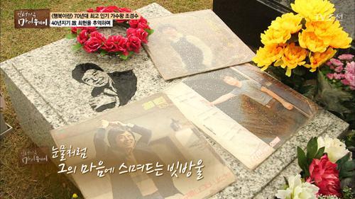 조경수, 40년지기 故최헌을 추억하며...