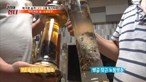 벌집으로 만든 술! '노봉방주'