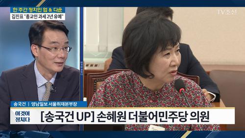 """손혜원 """"정권교체까지가 내 역할""""…21대 총선 불출마"""