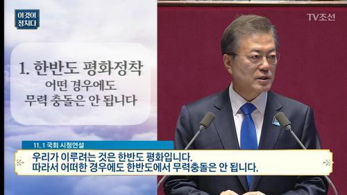"""문대통령""""우리 동의 없는 한반도 군사행동 없어""""...美,'김정은참수'훈련"""