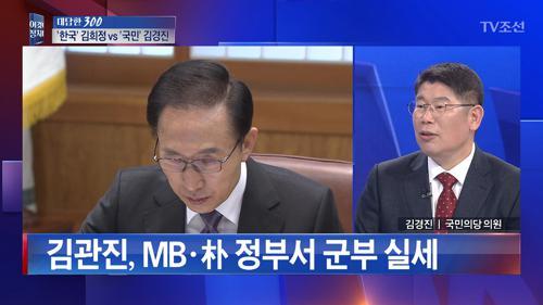 김관진 구속영장 발부 시 'MB 조사' 수순
