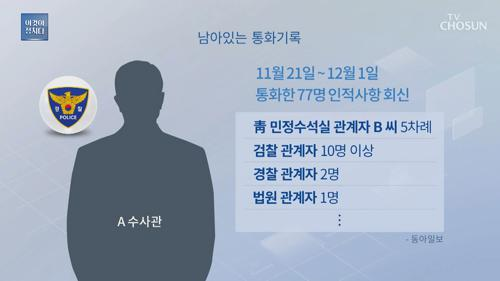특감반원 숨지기 10일 전 통화기록  '미스터리'