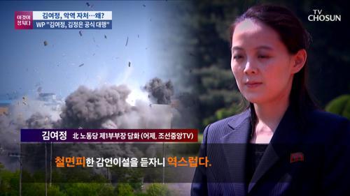 '평화의 메신저'였던 김여정…말 폭탄 들고 등장