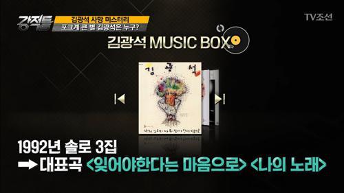 음유시인 故 김광석, 그의 음악이야기