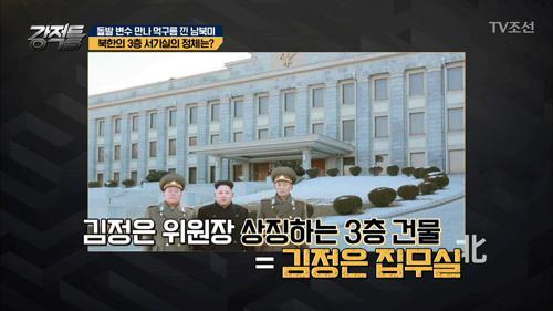 김정은의 집무실? '3층 서기실'의 정체!