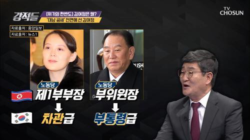 §달라진 위상§ 제1부부장의 김여정 담화문 발표