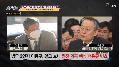 월성 수사 변호사였던 이용구 차관의 징계위 참석 논란