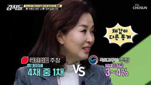 ˹체감이 다른 與vs野 통계˼ 종부세 대상 3~4%? TV CHOSUN 210424 방송