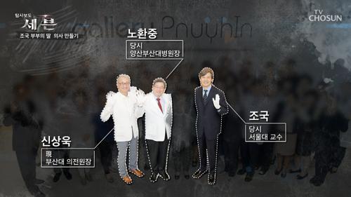취재진과의 만남을 거부한 특혜 의혹의 부산의료원장