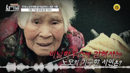 97세 노모의 벼랑 끝 비닐하우스 생존 기록_시그널 24회 예고